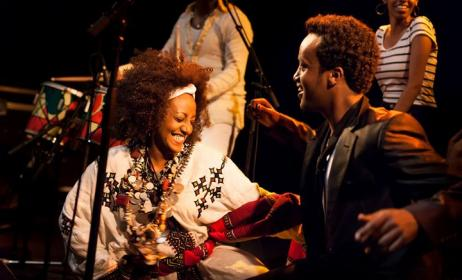 Uk-based Ethiopian band, Krar Collective. Photo: www.worldmusic.co.uk