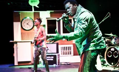 Lexxus Legal, l'artiste congolais va donner un spectacle aux Francofolies de Kinshasa (ph) steirischerherbst