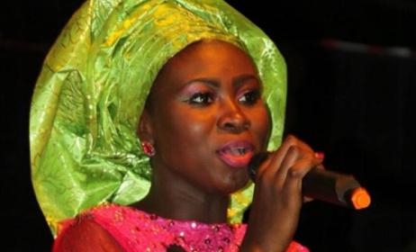 Gambian singer Sandeng. Photo: Facebook