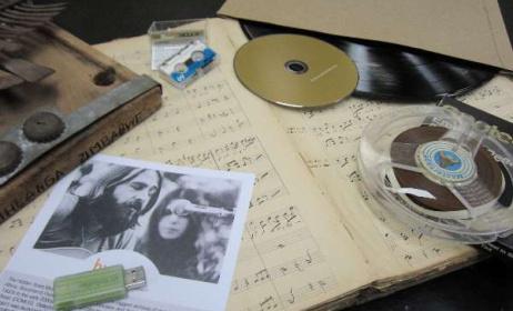 A selection of archival formats. Photo: S. de Jongh