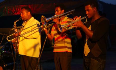 members of Tobiya Poetic Jazz group. Photo: www.tobiyapoeticjazz.com