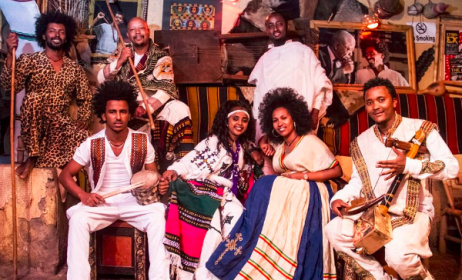 The Fendika ensemble. Photo: Mesfin Photographer