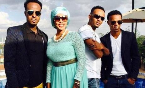 Horn Stars Band members. Photo: www.somalilandinformer.com