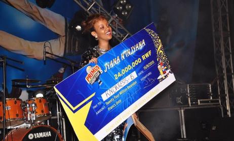 Artiste rwandais Knowless Butera. Photo: www.igihe.info