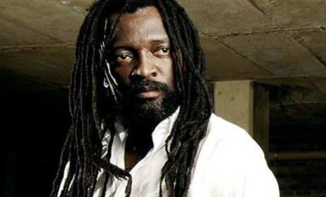 South African reggae singer Lucky Dube.