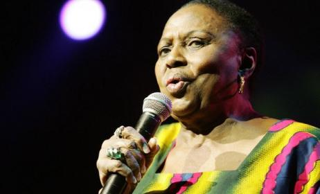 The late South African artist, Miriam Makeba. Photo: www.mirror.co.uk