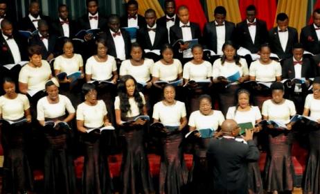 The MUSON choir. Photo: MUSON
