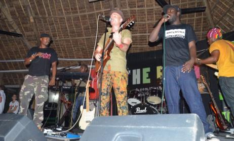 Chaba Thomas, Mzungu Kichaa and Jcb Mkalla at a past concert. Photo: www.tzaffairs.org
