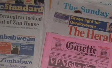 Journaux zimbabwéens