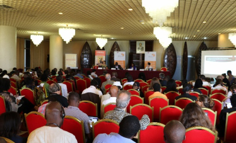 A scene from the Arterial Network African Creative Economy Conference (ACEC) in Yaoundé, Cameroon. Photo: David Durbach