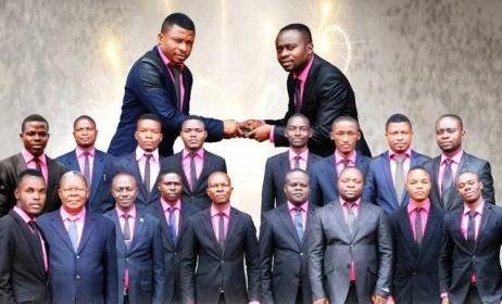 Chorale Cho.Ba.Co de Kinshasa. (ph) Adiac-Congo