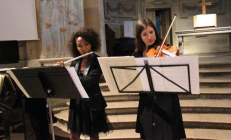 Concert musique classique à Madagascar. Photo : musiquepourmadagascar.wordpress.com