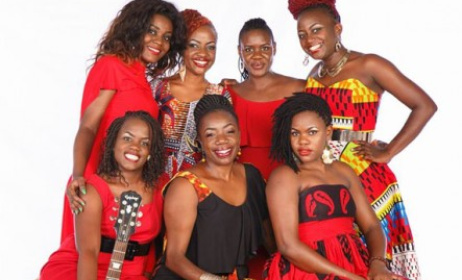 Uganda's female artists to perform at Qwela Junction concert. Photo: www.chano8.com