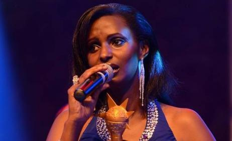 2014 Groove Award winner Gaby Kamanzi. Photo: www.inyarwanda.com