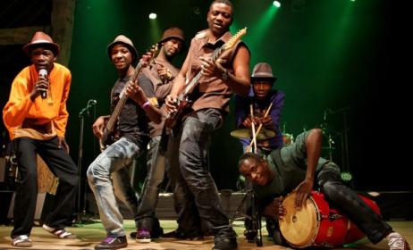 Zimbabwean band Mokoomba.
