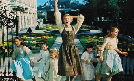 A scene from 1965 film version of 'The Sound of Music'. Photo: Allstar / Cinetext / 20th Century Fox