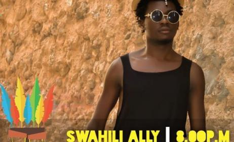 Tanzanian artist Swahili Ally. Photo: Utamaduni Facebook page