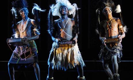 Zawose Family on stage. Photo: www.gaiadiscovery.com