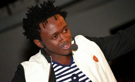 Kenyan artist Bahati. Photo: www.citizentv.co.ke