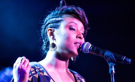 Ethio-Israeli artist Ester Rada. Photo: jazzkaar.ee