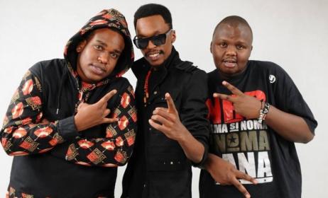 Kenyan rap trio, The Kansoul. Photo: www.mdundo.com