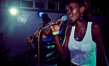 Binti Afrika during a live performance. Photo: Bad Mambo Facebook page