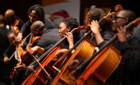 BuskaidSoweto String Ensemble. Photo: Buskaid