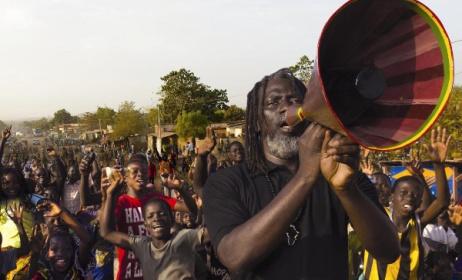 Ivorian reggae star Tiken Jah Fakoly. Photo: www.dourfestival.eu