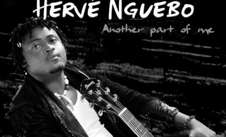 """Cover de l'abum """"Another part of Me"""" d'Hervé Nguebo"""