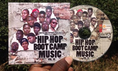 Hip Hop Boot Camp CD cover. Photo: Hip Hop Foundation Facebook page