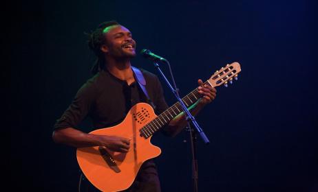 Landry Biaba. Photo par totoutart.org