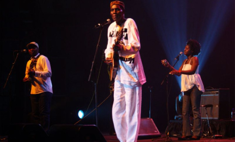 Oliver Mtukudzi. Photo: David Durbach
