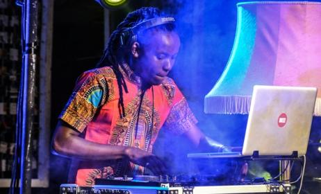 Kenyan DJ, Saint Evo. Photo by Fahruq M'Kinuu