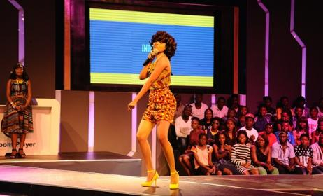 Tanzania's finalist Nandy. Photo: www.bongo5.com