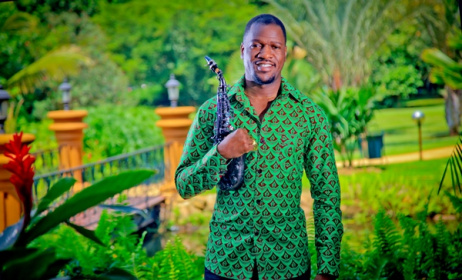 Ugandan Jazz artist Isaiah Katumwa. Photo courtesy of Isaiah Katumwa