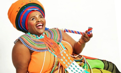 South African praise singer Jessica Mbangeni. Photo: Facebook