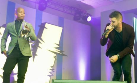 2015 Wawela winners Mi Casa perform at last year's awards ceremony. Photo: SAMRO