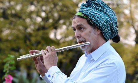 German diplomat and musician Walter J. Lindner. Photo: jazzlife.co.za