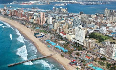 Durban will host the SAMAs for the first time this year. Photo: www.flymangotravel.com