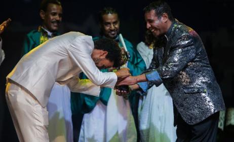 Finalists awarded at the 2015 Balageru Idol contest. Photo: www.ephremtube.com