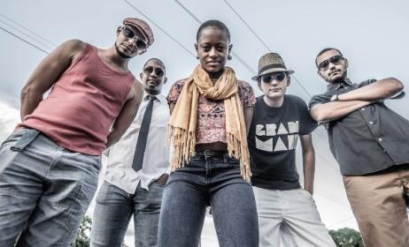 Mozambican reggae band Gran'mah. Photo: supplied