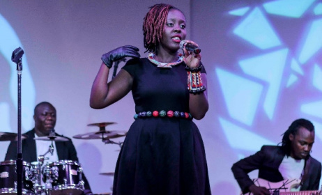 Prisca Ojwang during a past performance. Photo: www.hbr.co.ke