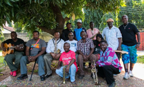 The new band formed by John Kitime. Photo:www.tanzaniaheritageproject.org