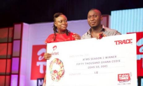 Moses Ugheighele is Ghana's Airtel Trace Music Star winner for 2016