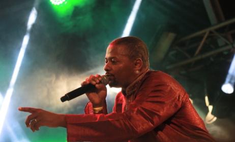Mozambican rapper Azagaia at Azgo Festival. Photo: Dave Durbach / Music In Africa