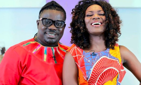 Bice Osei Kuffour, left, with TV host Stacy Amoateng. Photo: Instagram