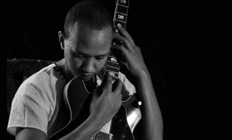 Ethiopian jazz guitarist Girum Gizaw. Photo: www.girumgizaw.com