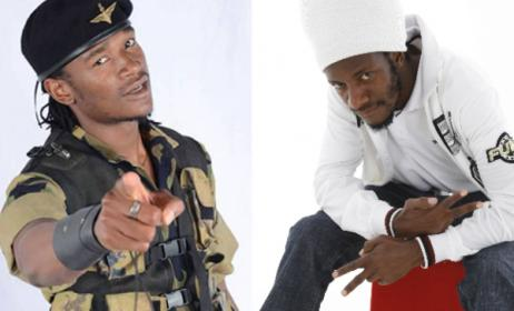 Zimbabwean stars Jah Prayzah (left) and Winky D (right).