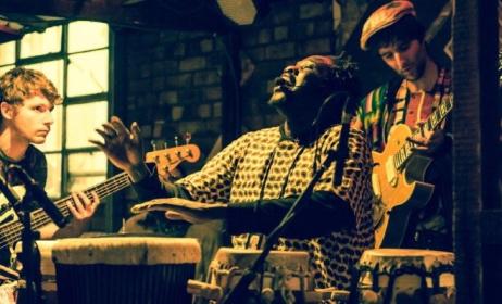 Karim Mbaye fronts UK-based band Rimka. Photo:www.Liverpoolguild.org