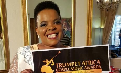 South Africa's Rebecca Malope has been nominated for Best Gospel Artist. Photo: TAGMA/Facebook